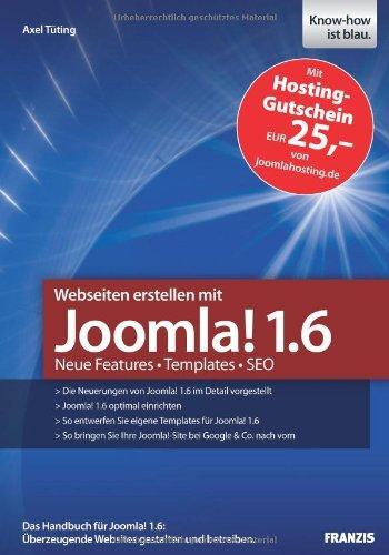 Webseiten erstellen mit Joomla! 1.6 - Neue Features - Templates