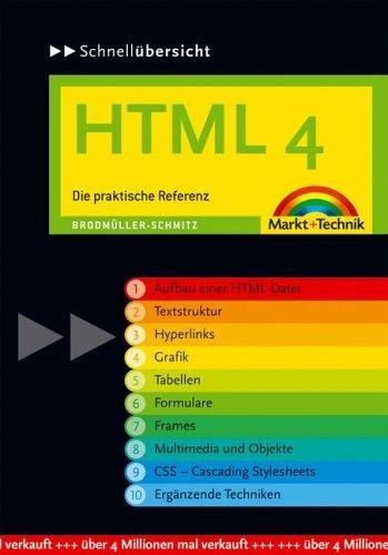 Schnellübersicht HTML 4. Die praktische Referenz.