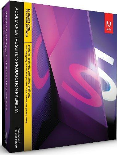 Adobe Creative Suite 5 Production Premium, Student and Teacher