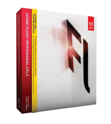 Adobe Flash Pro Creative Suite 5.5 - STUDENT AND TEACHER -