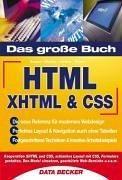 Das Große Buch HTML.  XHTML & CSS