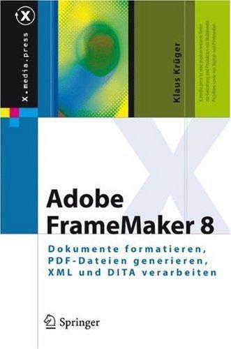 Adobe FrameMaker 8: Dokumente formatieren, PDF-Dateien