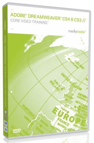 Adobe Dreamweaver CS4 & CS3 Core Video Training (Mac/PC DVD)