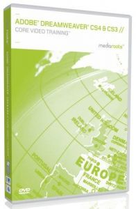 Adobe Dreamweaver CS4 & CS3 Core Video Training (Mac/PC DVD)