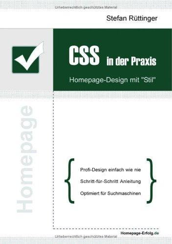 CSS in der Praxis: Homepage-Design mit 'Stil'