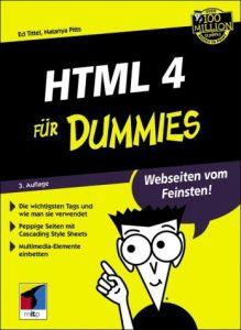 HTML 4 für Dummies.